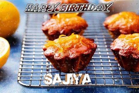 Happy Birthday Cake for Sajiya