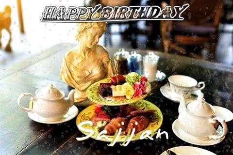 Happy Birthday Sajjan Cake Image