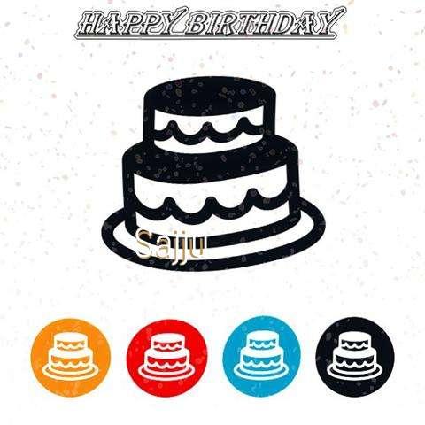 Happy Birthday Sajju Cake Image