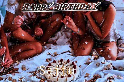 Happy Birthday Cake for Sajju