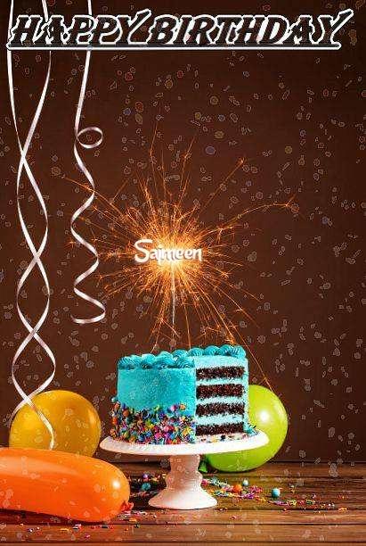 Happy Birthday Cake for Sajmeen