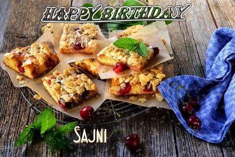 Happy Birthday Cake for Sajni