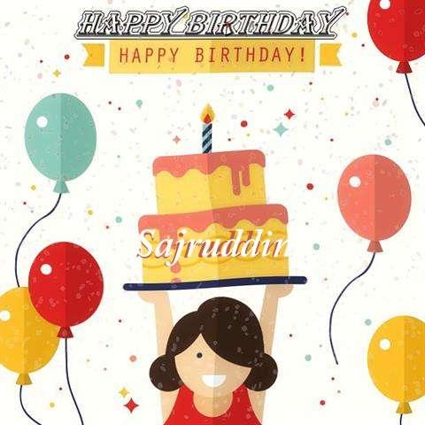Happy Birthday Sajruddin