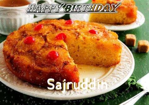Birthday Images for Sajruddin