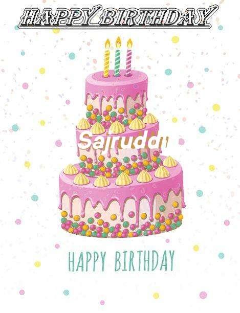 Happy Birthday Wishes for Sajruddin