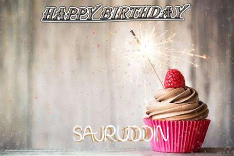 Happy Birthday to You Sajruddin