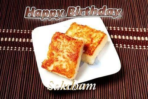 Birthday Images for Sakcham
