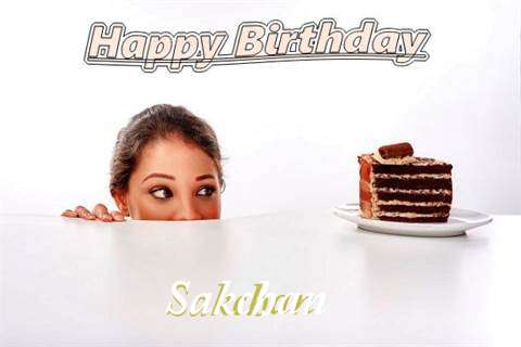 Birthday Wishes with Images of Sakchan