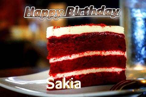 Happy Birthday Sakia