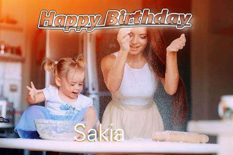 Happy Birthday to You Sakia