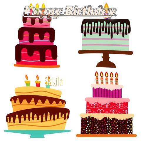 Happy Birthday Wishes for Sakila