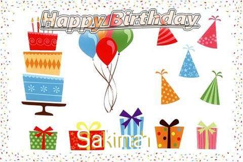 Happy Birthday Wishes for Sakinah