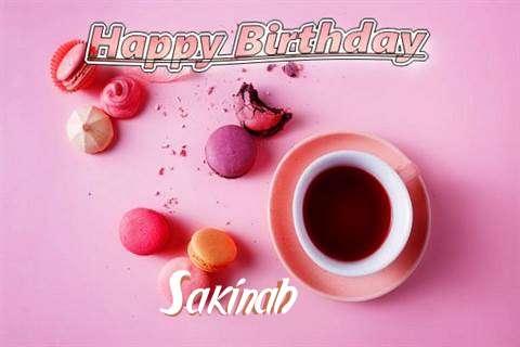 Happy Birthday to You Sakinah