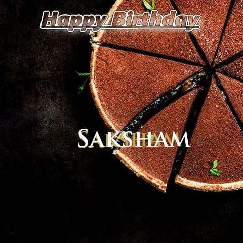 Birthday Images for Saksham