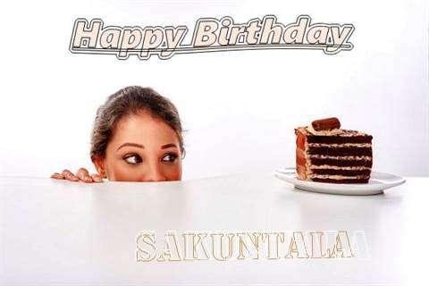 Birthday Wishes with Images of Sakuntala