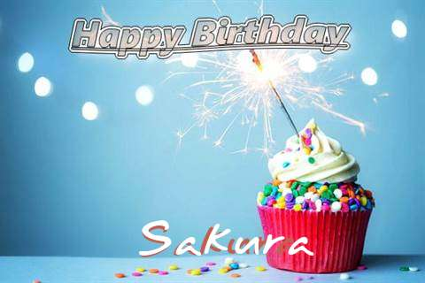 Happy Birthday Wishes for Sakura