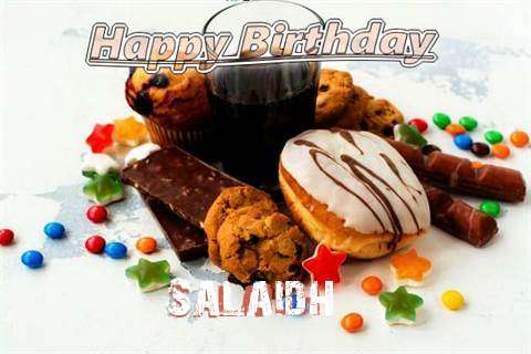 Happy Birthday Wishes for Salaidh