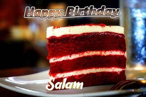 Happy Birthday Salam