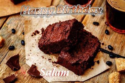 Happy Birthday Salam Cake Image