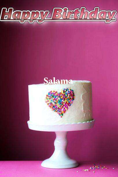 Birthday Wishes with Images of Salama