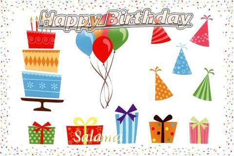 Happy Birthday Wishes for Salama
