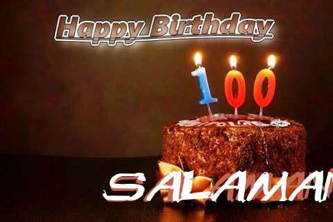 Salaman Birthday Celebration