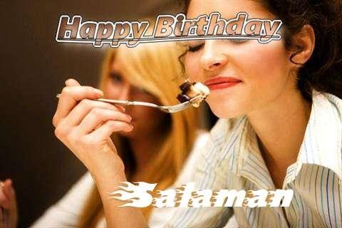 Happy Birthday to You Salaman