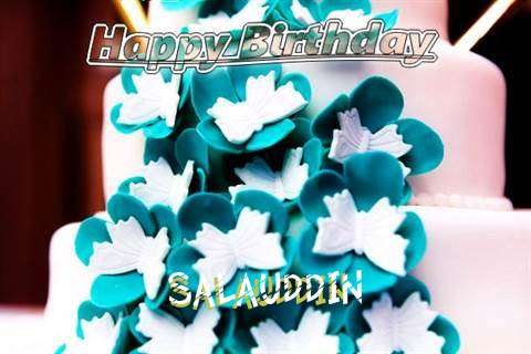 Birthday Wishes with Images of Salauddin