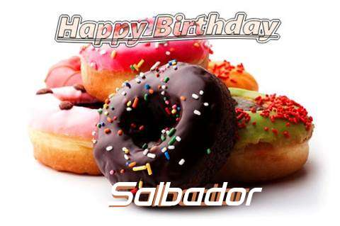 Birthday Wishes with Images of Salbador
