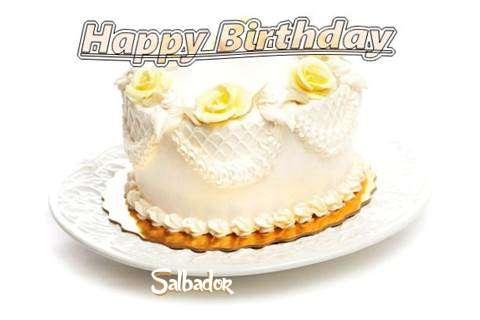 Happy Birthday Cake for Salbador