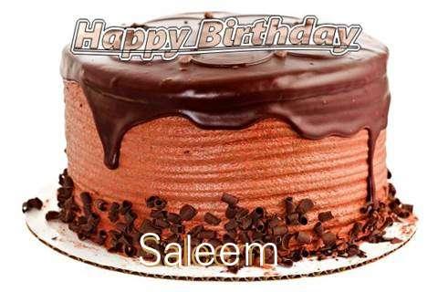 Happy Birthday Wishes for Saleem