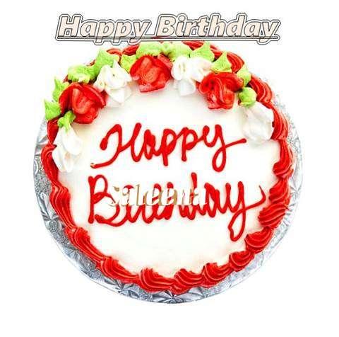 Happy Birthday Cake for Saleena