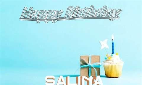 Happy Birthday Cake for Salina