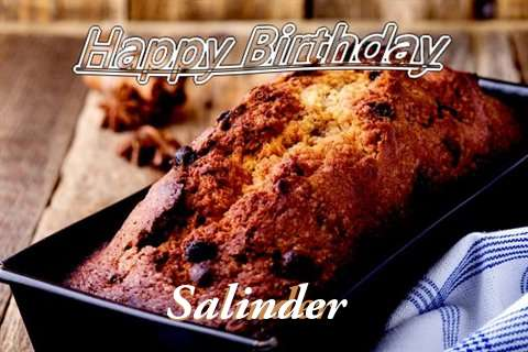 Happy Birthday Wishes for Salinder