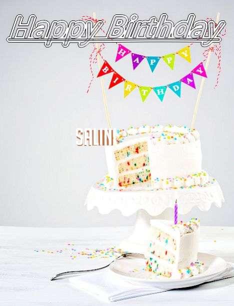 Happy Birthday Salini Cake Image
