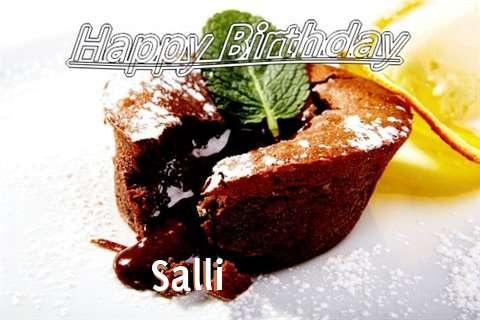 Happy Birthday Wishes for Salli