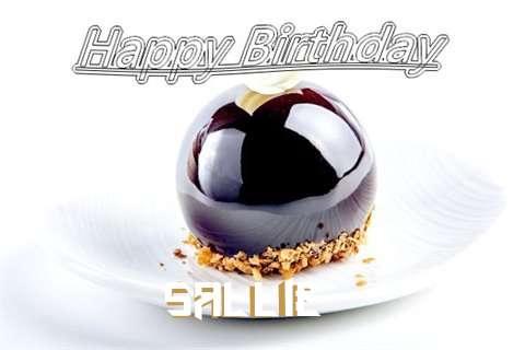 Happy Birthday Cake for Sallie
