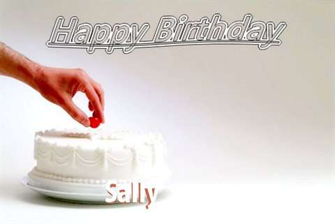 Happy Birthday Cake for Sally