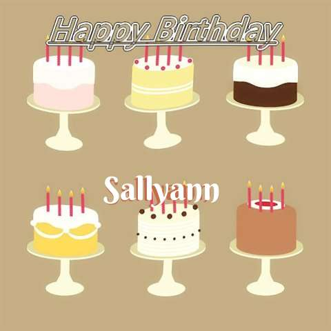 Sallyann Birthday Celebration
