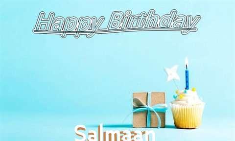 Happy Birthday Cake for Salmaan