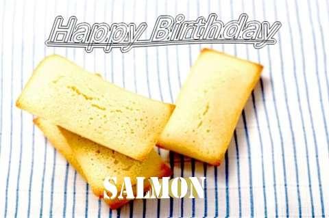 Salmon Birthday Celebration