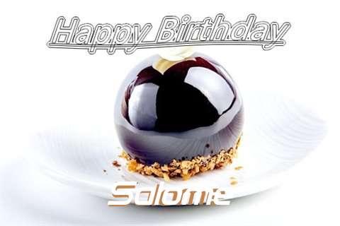 Happy Birthday Cake for Salome