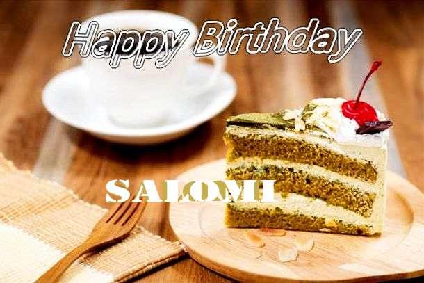 Happy Birthday Salomi