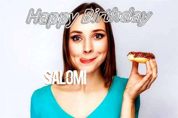 Happy Birthday Wishes for Salomi