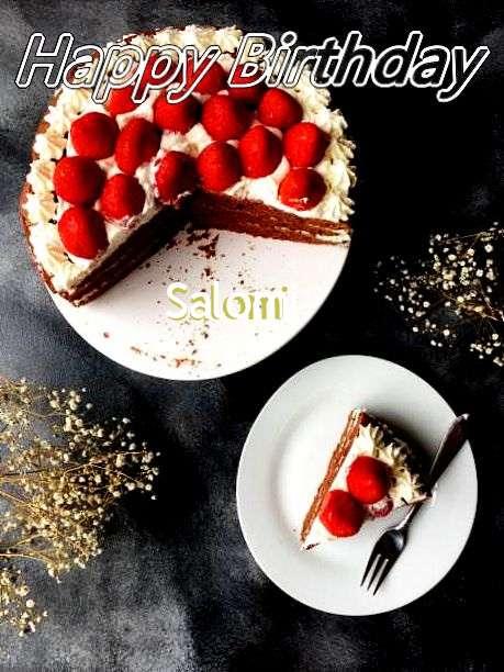 Happy Birthday to You Salomi