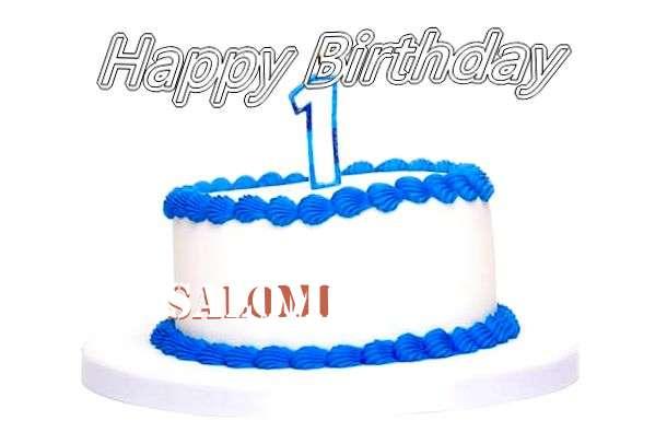 Happy Birthday Cake for Salomi