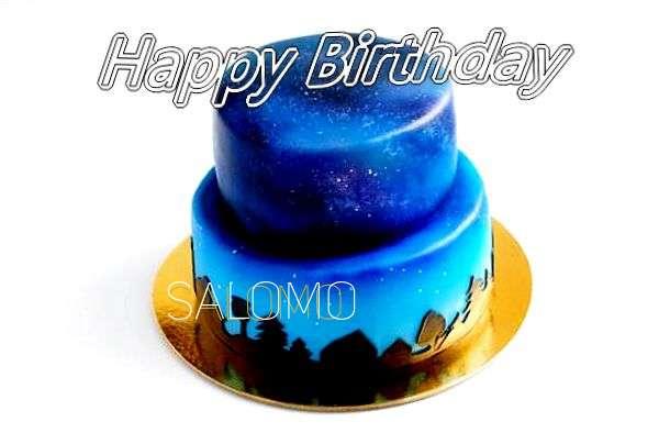 Happy Birthday Cake for Salomo