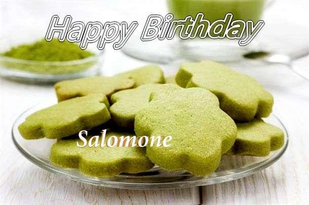 Happy Birthday Salomone