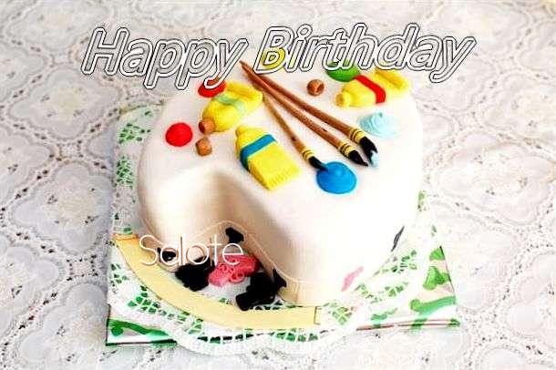 Happy Birthday Salote