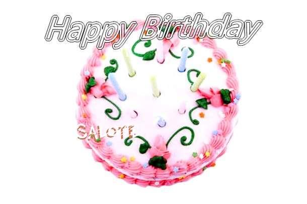 Happy Birthday Cake for Salote